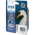 Картридж струйный Epson T0815 Stylus Photo R270/R290/R295/R390/RX610, light cyan 11,1ml