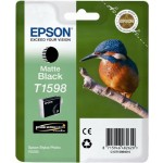 Картридж струйный Epson T1598 Stylus Photo R2000, matte black 17ml
